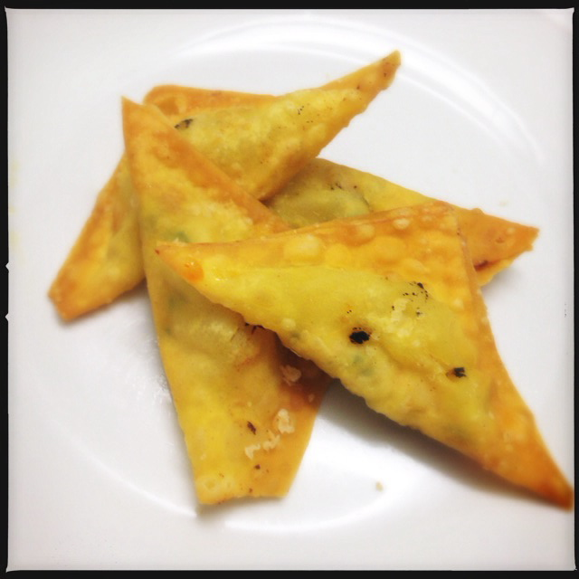 The Fried Wontons. Photo by Vanessa Wolf