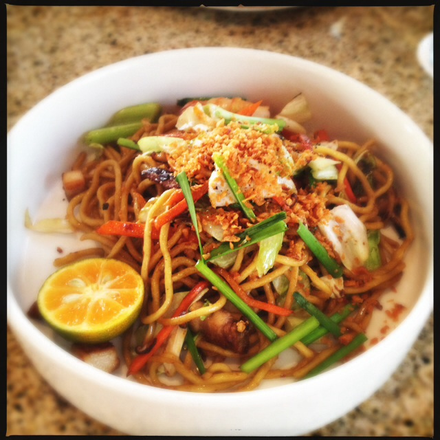 Unless you've had Pancit before, the Pancit may take a little getting used to. Photo by Vanessa Wolf
