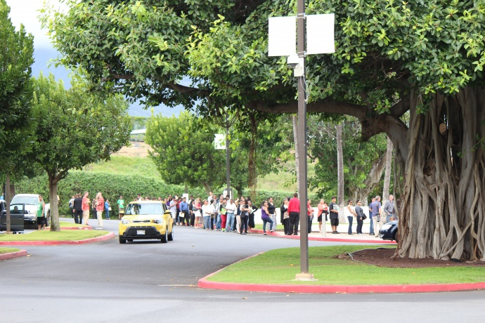 Target Maui Job Fair, photo by Wendy Osher.