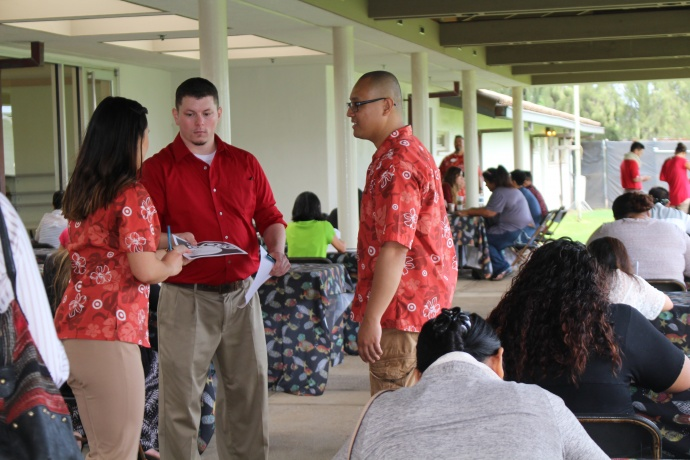Target Maui Job Fair, photo by Wendy Osher.
