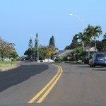 South Alu Road, Wailuku Heights. Photo by Wendy Osher.
