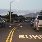 Speed hump on a section of Mokapu Street in Kahului. Photo by Wendy Osher.