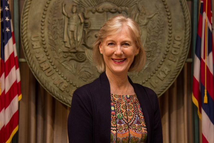 Laurel A. Johnston has been selected as Gov. Ige's deputy chief of staff.  Photo courtesy Ige administration.