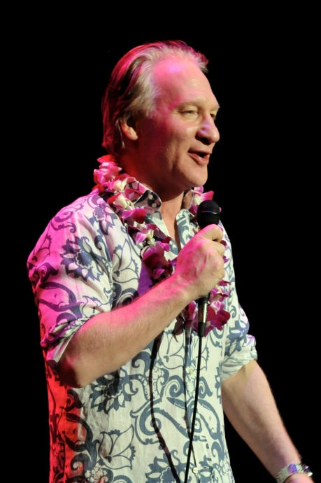 Bill Maher performs on New Year's Eve 2013 in Oahu. Courtesy image