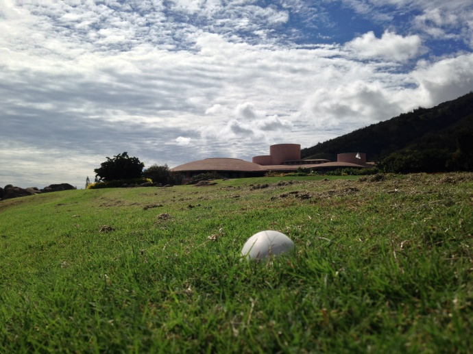 Nēnē goose egg at The King Kamehameha Golf Club.  Photo by: Rick Castillo.