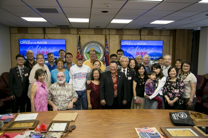 Pingtung Sister County Delegation
