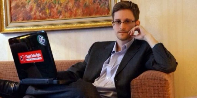 Edward Snowden, a hero to some and traitor to others, tells his story in the stunning documentary CITIZENFOUR. Courtesy photo.