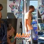 Surveillance images courtesy Maui Police.