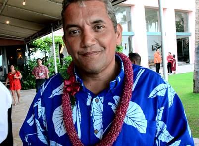 Hawaiʻi Island Mayor Billy Kenoi. Photo courtesy County of Maui Office of Council Services.
