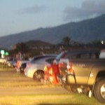 Overnight parking. Maui Now photo.