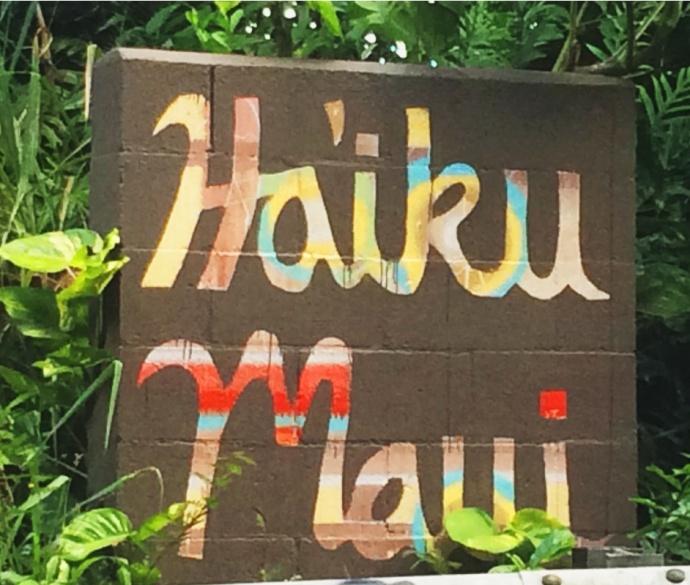Haiʻkū, Maui. Photo by Victoria Hoag.