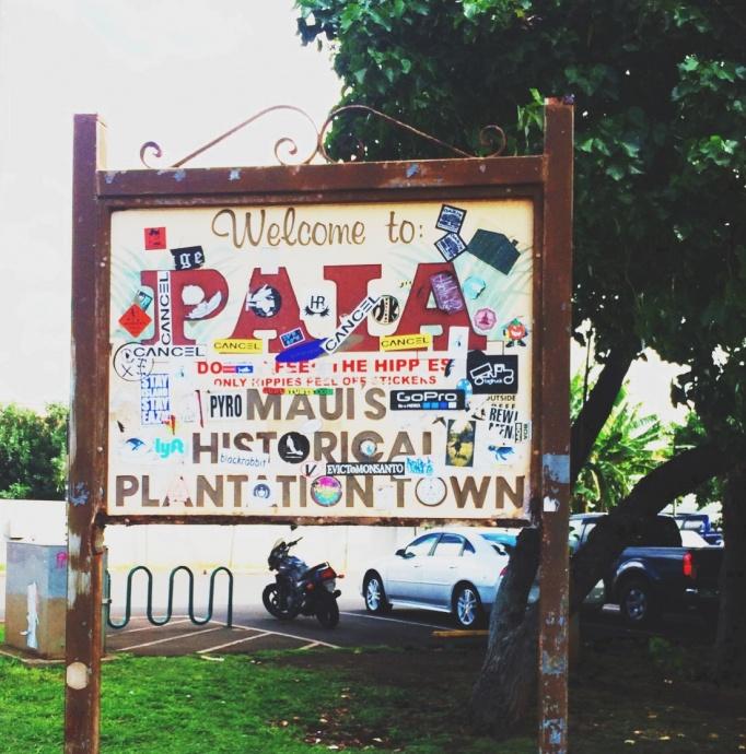 Pāʻia, Maui. Photo by Victoria Hoag.