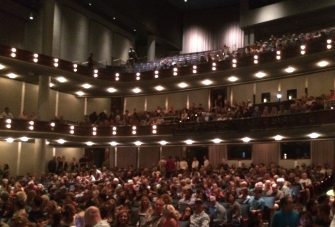 The SUP Movie premiere opens to a sold out crowd at the Maui Arts & Cultural Center. Photo by Victoria Hoag.