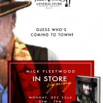 Mick Fleetwood Hosts Book Signing on Front Street