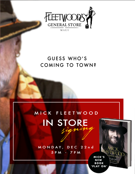 Mick Fleetwood's new book Play On.