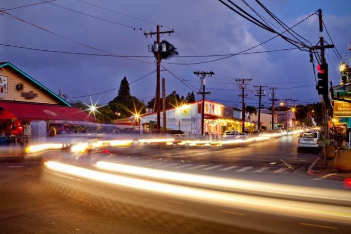 Pāʻia Street-scape. Photo courtesy Pāʻia Town Association.