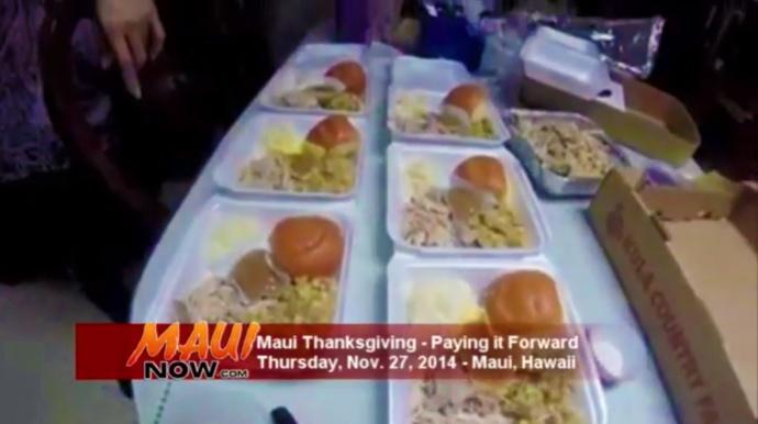 Thanksgiving Maui.