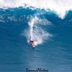 "Aaron Gold surfing Pe'ahi ""Jaws"" 1.22.15 / Image: Dooma Photos"