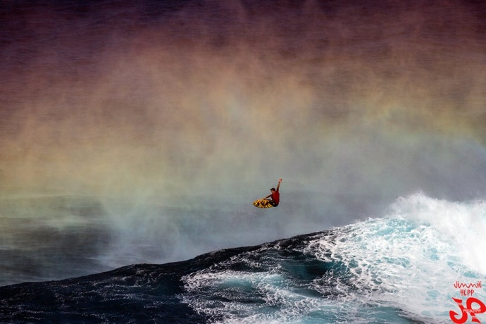 """Pe'ahi """"Jaws"""" 1.21.15 / Image: Jimmie Hepp"""