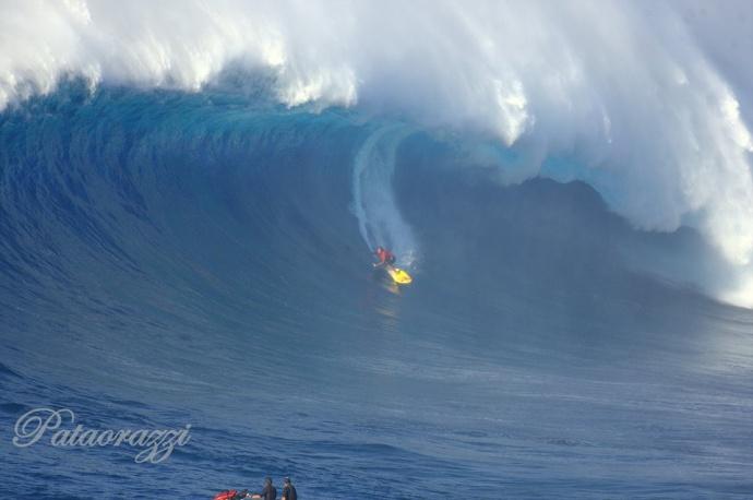 "Kai Lenny at Pe'ahi ""Jaws"" 1.21.15 / Image: John Patao"