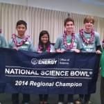 1_Hawaii Science Bowl_1st Place_Maui High