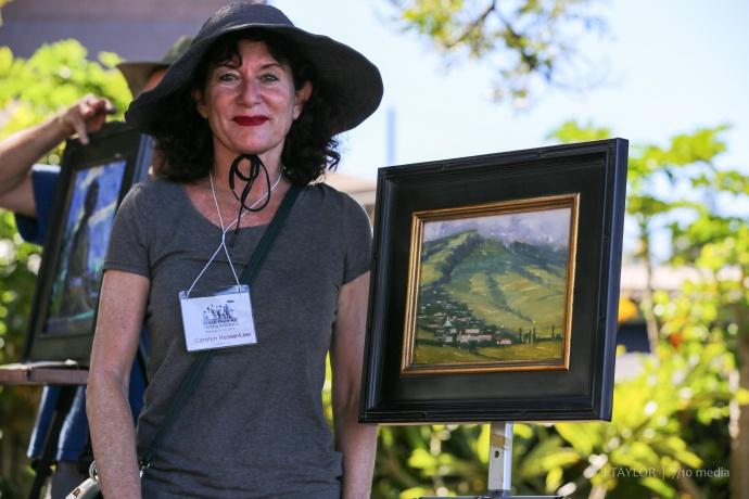 Photo courtesy Maui Plein Air Painting Invitational.