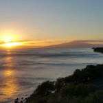 Lahaina Pali Sunset 1.26.15 / Image: Asa Ellison