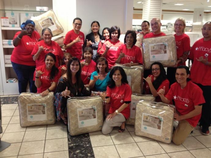 Woment Helping Women, Macy's donation. Courtesy photo.