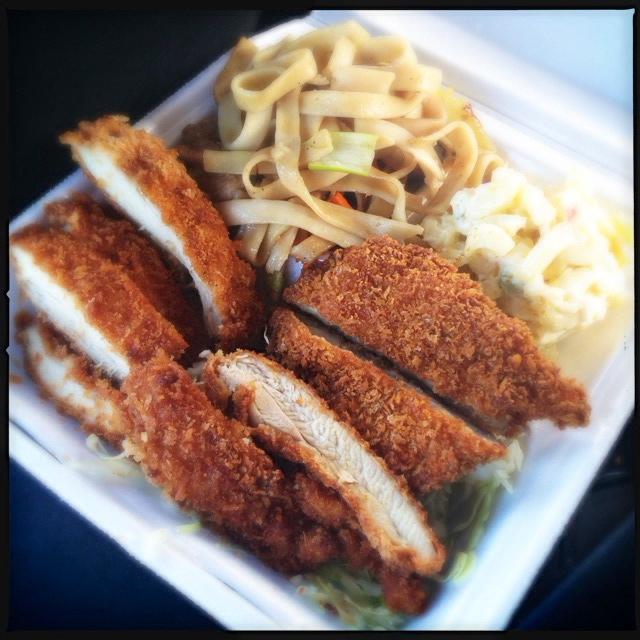 The Katsu Chicken is definitely worth taking on that second date. Photo by Vanessa Wolf