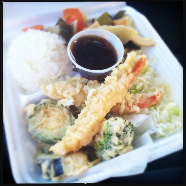 The Tempura is ready when you are. Photo by Vanessa Wolf