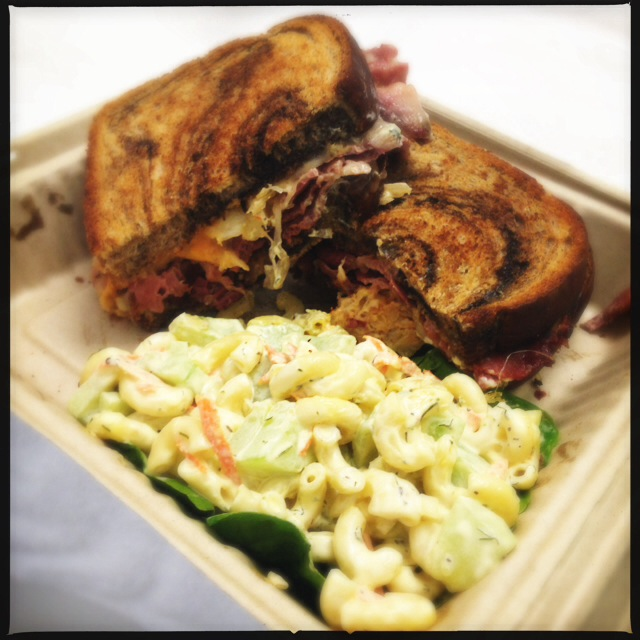 The Rueben is a classic made in the classic style. Bravo. Photo by Vanessa Wolf