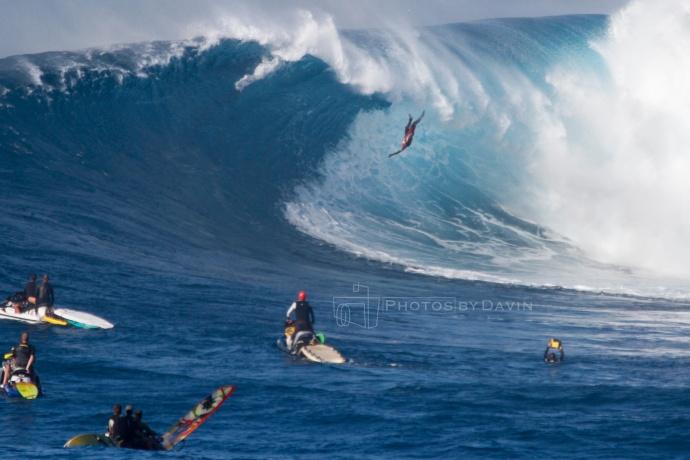 "Pe'ahi ""Jaws"" 1.21.15 / Image: Davin Phelps"