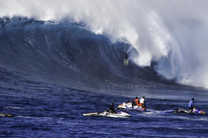"Kai Lenny - Pe'ahi ""Jaws"" 1.21.15 / Image: Davin Phelps"