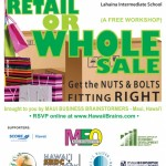 Brainstormers Present 'Get the Nuts and Bolts Fitting Right in Retail or Wholesale'