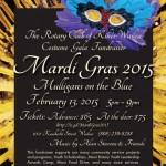 Rotary Club of Kīhei–Wailea to Throw Mardi Gras Party