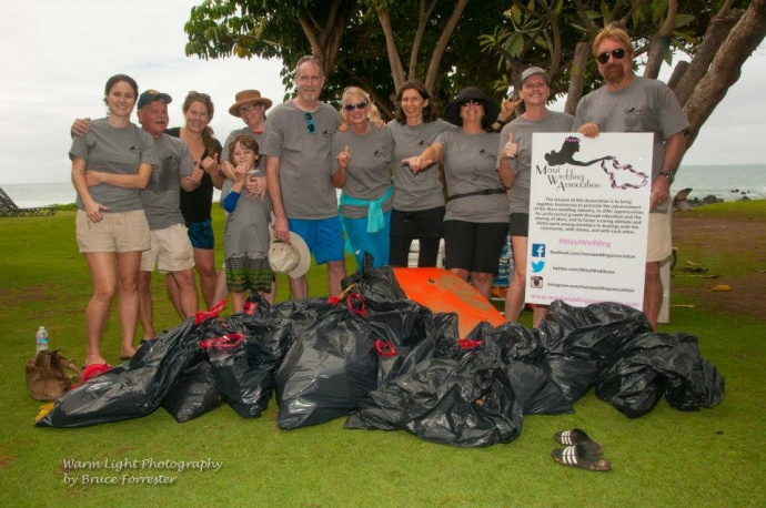 Maui Wedding Association volunteers. Courtesy photo.