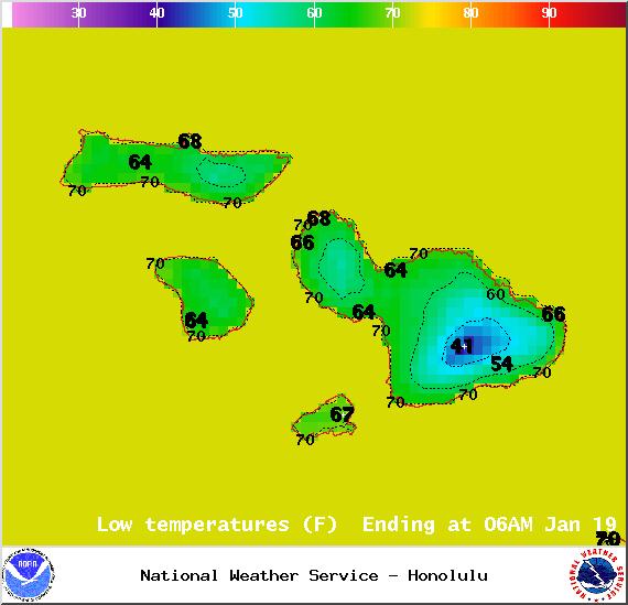 Sunday - Image: NOAA / NWS