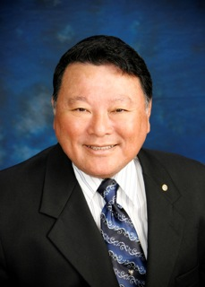 """Mayor Alan Arakawa (pictured here), Teryl Vincel, Sharon Zalsos, Councilmember Don Guzman and Rick Volner will dance with a partner of their choice at MEO's """"Dancing with Our Stars"""" fundraiser."""