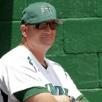 Mike Trapasso took over the University of Hawai'i baseball program in 2002. He has led his teams to winning records in eight of the last nine seasons, and has guided his teams to 30 or more wins in eight of his seasons. Trapasso is 382-360 overall at Hawai'i. Photo by UH Athletics.
