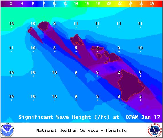 Saturday - Image: NOAA / NWS