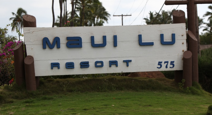 Maui Lu sign. Photo credit courtesy: Kevin J. Olson.