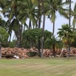 PHOTOS: Maui Lu Iconic Longhouse Building Demolished