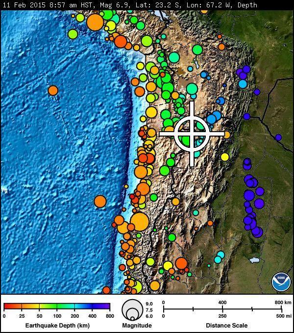 Chile Quake imagery 2/11/15 courtesy Pacific Tsunami Warning Center.