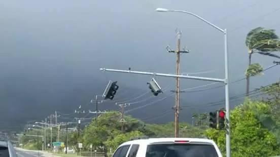 Storm related damage Maui 2/14/15. Photo courtesy Konane Parsons.