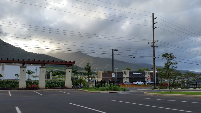 McDonald's at Kehalani in Wailuku, Maui. Photo by Wendy Osher.