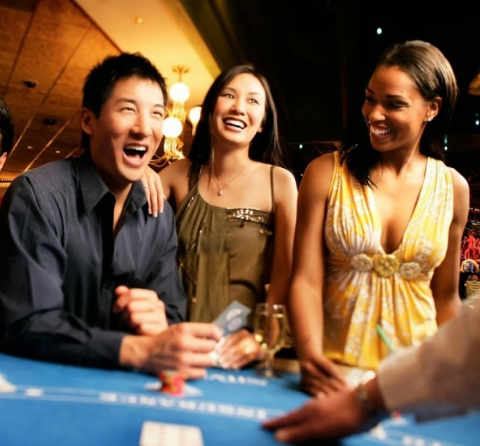 Casino Royale, the Third Annual Book Trust Extravaganza. Courtesy photo.
