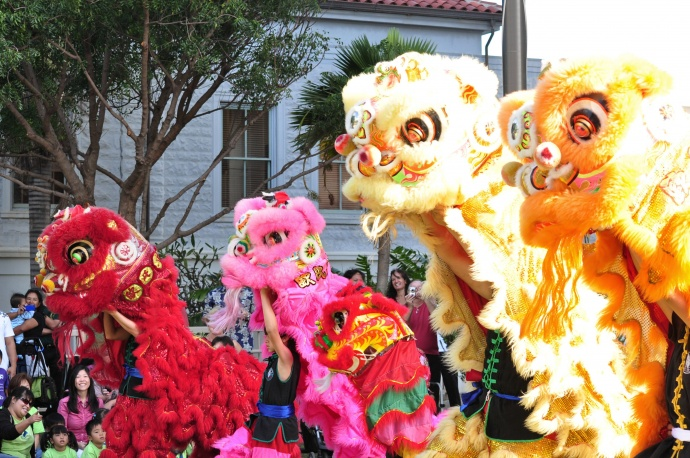 Chinese New Year, file photo 2012 courtesy County of Maui.
