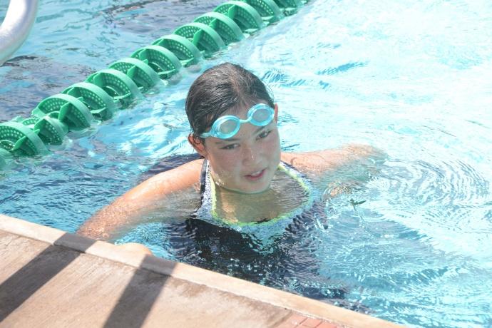 "Special Olympics ""Swim & Fin"" courtesy photo."