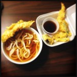 The Tempura Udon is an above-average version. Photo by Vanessa Wolf