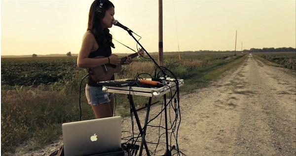 Indie music-maker Kawehi at MACC May 28. Courtesy photo.